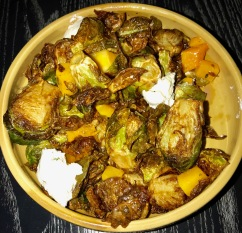 Lionfish: brussel sprouts